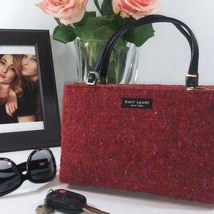 Vintage Kate Spade Tweed Handbag